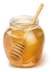 honey helps to get rid of pimples