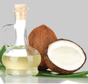 coconut oil for dry lips