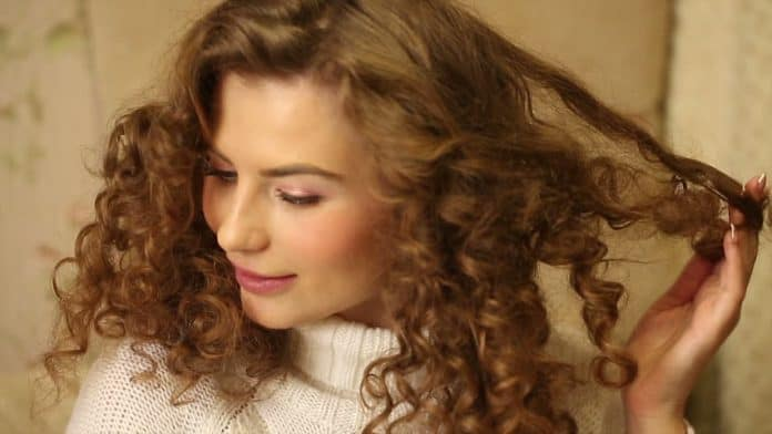how to straighten curly hair permanently at home